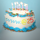 Happy birthday? The internet is 25 years old