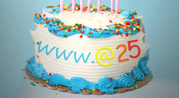 Happy Birthday The Internet Is 25 Years Old
