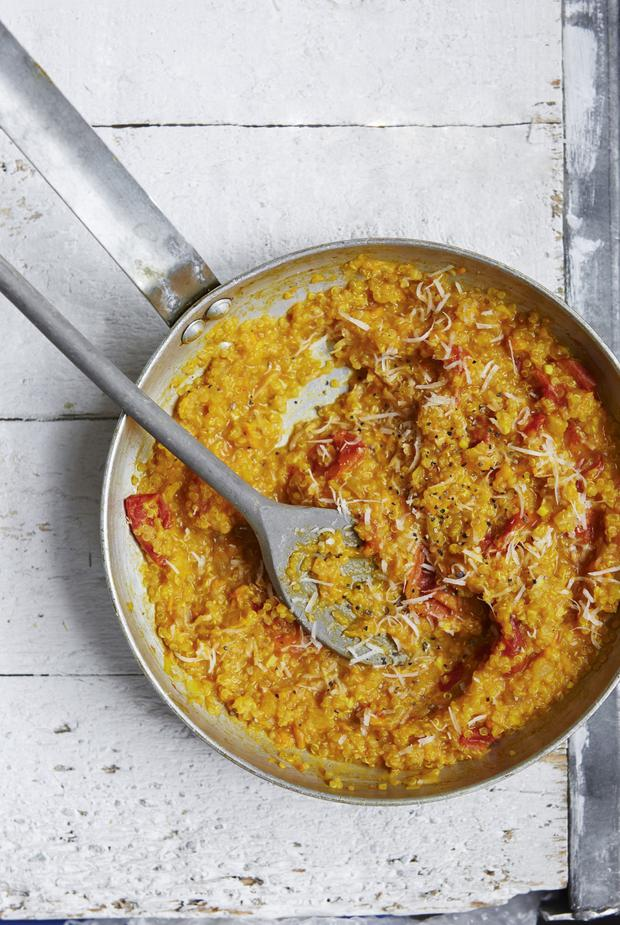 Quick and easy gluten-free dishes10-minute Quinoa Risotto and