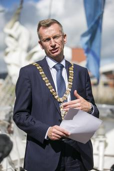 Lord Mayor of Belfast Brian Kingston