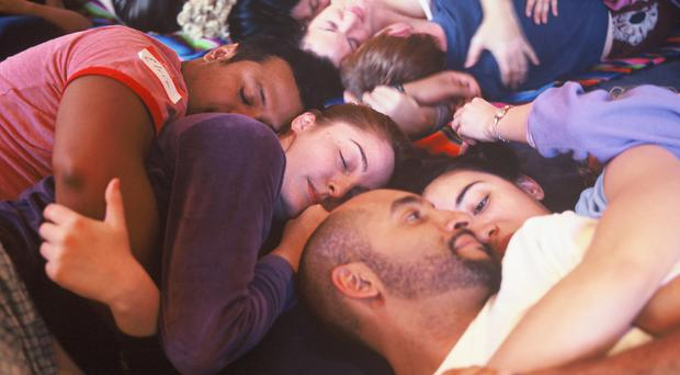 Comfort of strangers: the idea of hosting parties where people, hitherto unknown to one another, can snuggle, has been imported from the United States