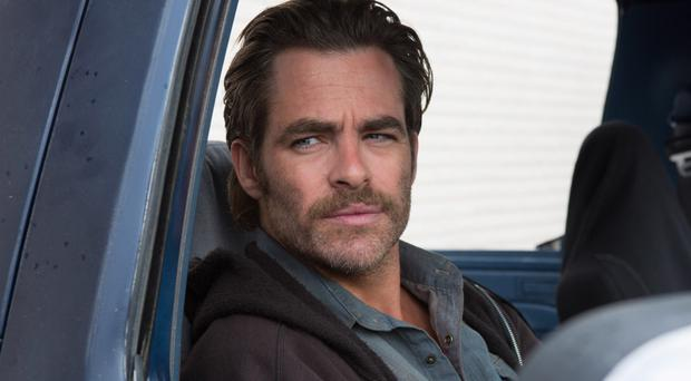 Family woes: Chris Pine as Toby Howard
