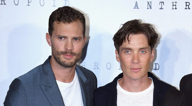 Cillian and Jamie at the film's UK premiere