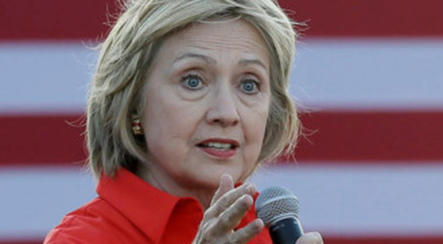 Struck down: Hillary Clinton became unwell at the 9/11 memorial ceremony