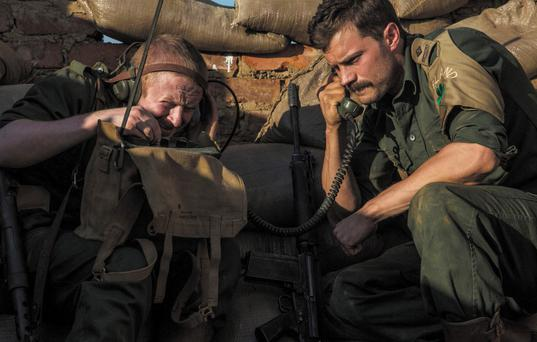 Change of scene: Jamie Dornan in The Siege of Jadotville