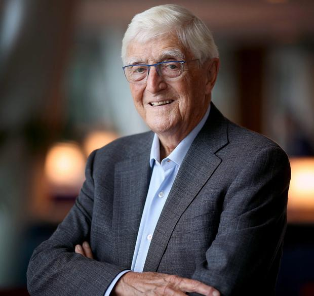 Veteran presenter Michael Parkinson