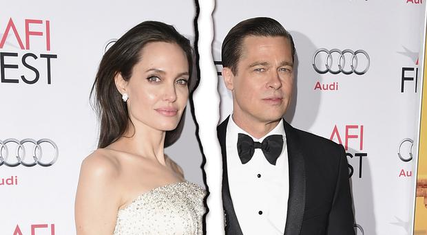 Moving on: Brad Pitt and Angelina Jolie are to split and the actress has enlisted divorce lawyer Laura Wasser