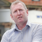 Doug Beattie MLA outside the Ulster Unionist offices in east Belfast