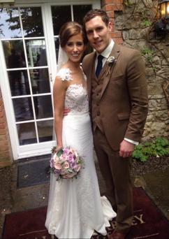 John McAreavey and bride Tara Brennan
