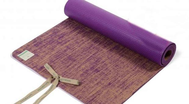 Seven best yoga mats to help you shape up - BelfastTelegraph.co.uk ff3c58cd4e63