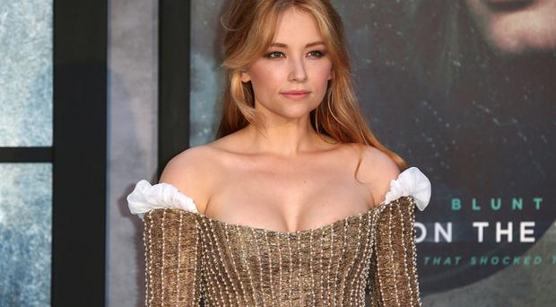 Golden girl: Haley Bennett plays Megan in the film
