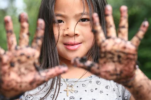 Dig in: letting children be exposed to dirt could be good for their immunity