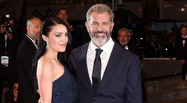 Changed man: Mel Gibson and his girlfriend Rosalind