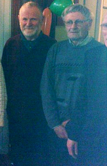 Daniel (left) and William McCarthy