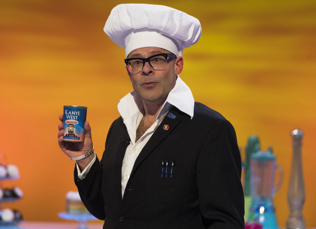 Culinary chaos: Harry Hill's new comedy series is cookery-themed