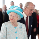 Drink up: the Queen and Prince Philip visit the Guinness Storehouse in 2011