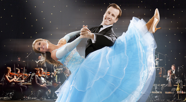 Dancing feet: Erin Boag; with dance partner Anton du Beke
