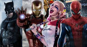 Modern marvels: Batman, Iron Man, Suicide Squad's Harley Quinn and Spider-Man