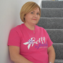 Leanne Rooney who is carrying on her sister's cancer charity work