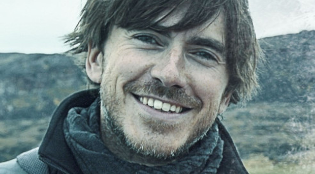 Ice cold: presenter Simon Reeve enjoyed his time in the Arctic