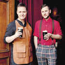 Award winners: Sean Muldoon and Jack McGarry, who are the owners of The Dead Rabbit pub in New York