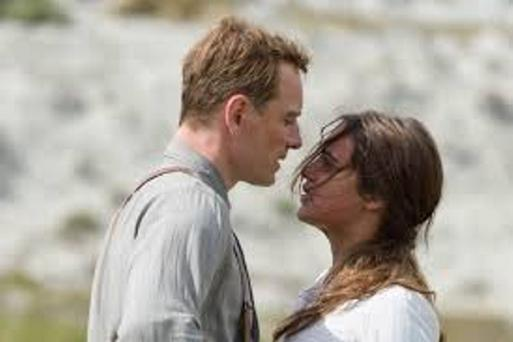 Moral dilemma: Michael Fassbender and Alicia Vikander