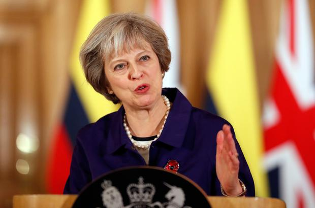 Court out: PM Theresa May now faces a formidable task on Brexit