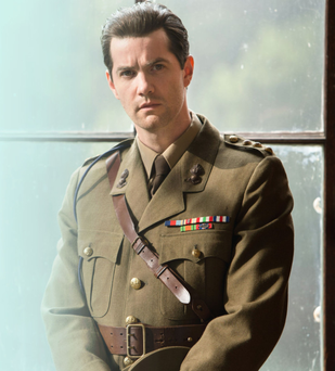 Military man: Jim Sturgess in Close To The Enemy