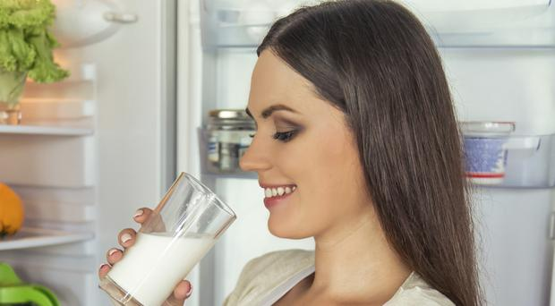 Healthy options: dairy is vital for mums-to-be, says Professor Rayman. File image