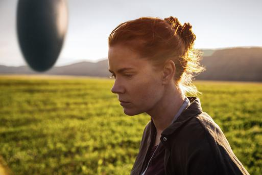 Mesmerising role: Amy Adams in Arrival