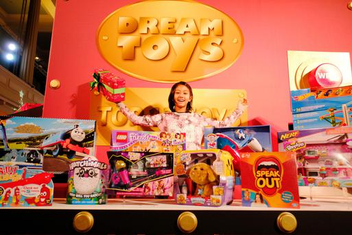 Wish list: DreamToys has created a diverse offering for kids of all ages, including adults