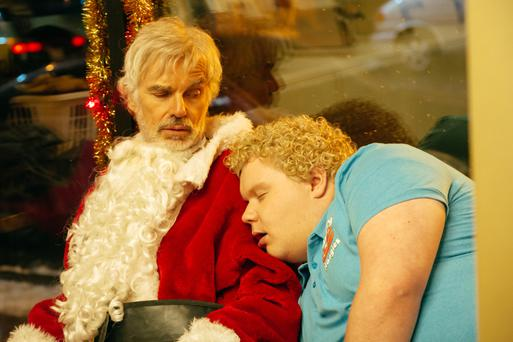 Gross out: Bad Santa 2 epitomises the XXXmas movie genre