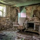 Decaying dwellings: inside a rundown farmhouse