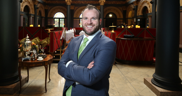 Dream team: Gavin Carroll, general manager of The Merchant Hotel