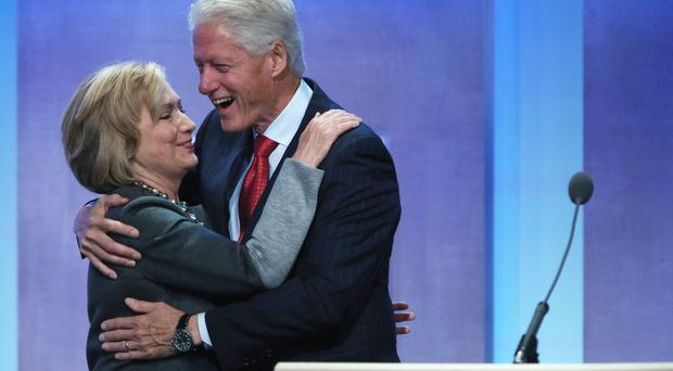 Power couple: Hillary and Bill Clinton