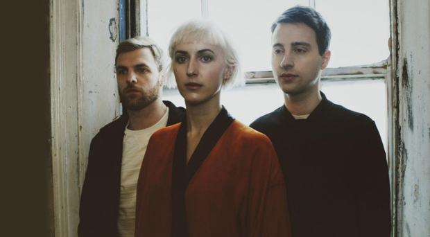 Bumpy road: from left, Barney Freeman , Blythe Pepino and Ben Vella of Vaults