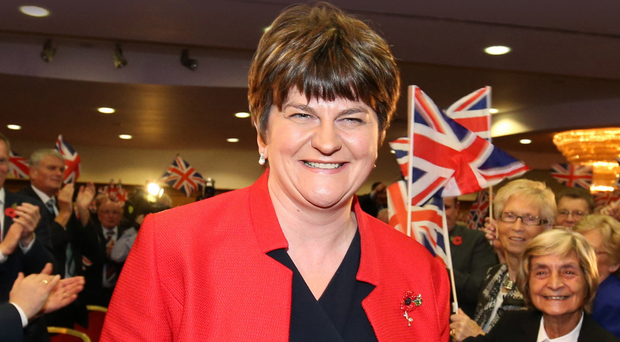 First Minister of Northern Ireland Arlene Foster MLA Leader, Democratic Unionist Party.