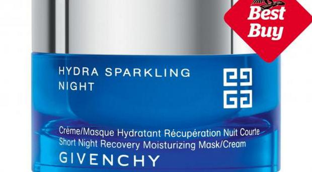 Givenchy Hydra Sparkling Night Recovery Moisturising Mask/Cream