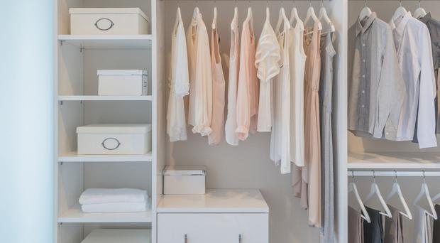 Shelf life: there are plenty of places around the house to create storage
