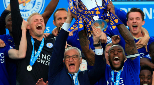 Just champion: Leicester City's unlikely Premier League title was the most retweeted sport-related tweet