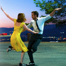 Let's dance: Emma Stone and Ryan Gosling in La La Land