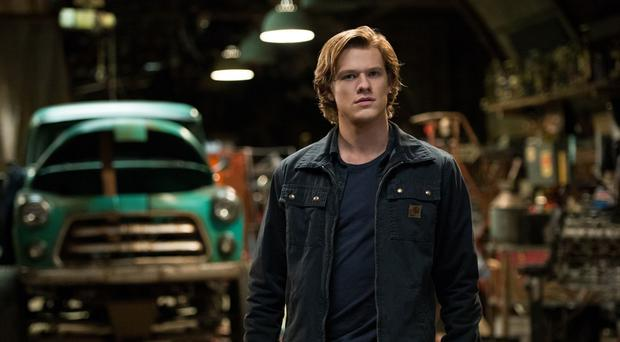 Engine trouble: Lucas Till in Monster Trucks
