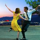 Fancy footwork: Emma Stone and Ryan Gosling dance in La La Landsees