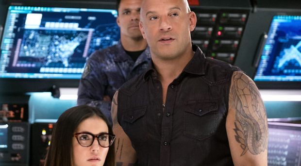 X factor: Vin Diesel with Nina Dobrev in xXx: Return Of Xander Cage