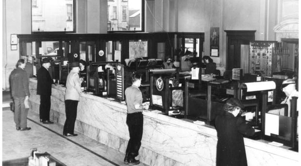 Quaint times: banking back in the old days