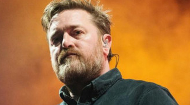 Moving on: Elbow's frontman Guy Garvey