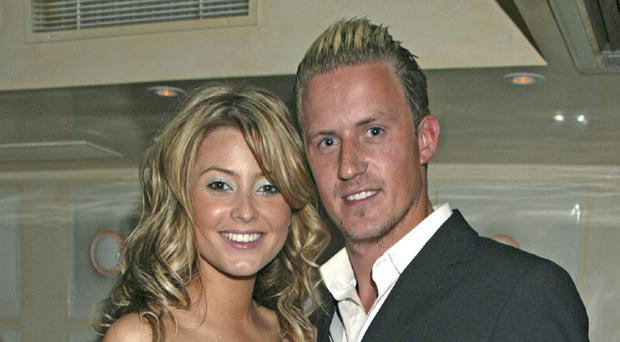 Entrepreneur Dezzi McCausland with former Neighbours actress Holly Valance
