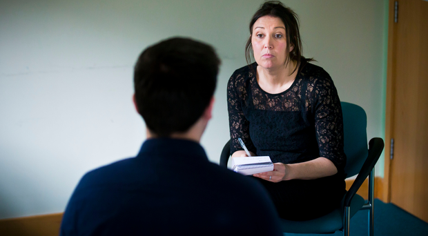 Claire McNeilly listens to Greg's harrowing account of his ordeal
