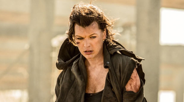 All-action: Milla in Resident Evil: The Final Chapter
