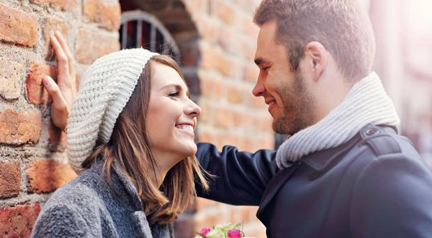 Loved up: Be sure to get your partner the perfect gift on Valentine's Day
